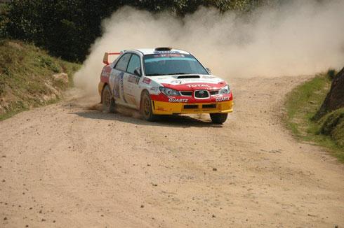 Rallye du Boeny : Olivier et Haingo de bout en bout !