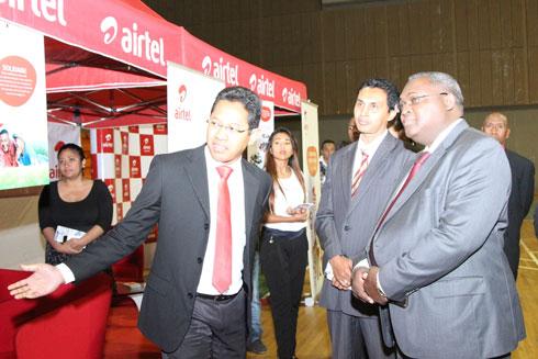 Airtel Madagascar : Présence appréciée au Salon de l'emploi