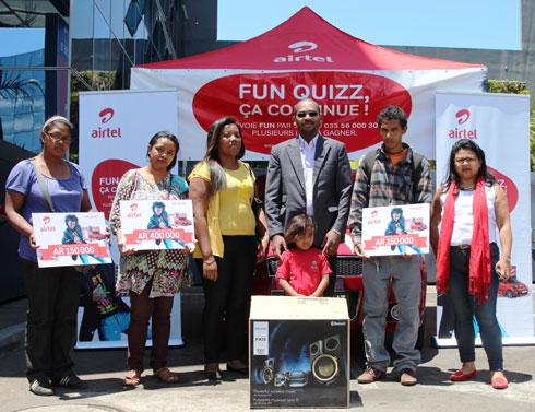 Airtel Fun Quizz 18 : Les premiers lots intermédiaires distribués