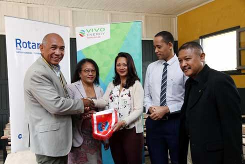 Vivo Energy : Appui à l'éducation nationale