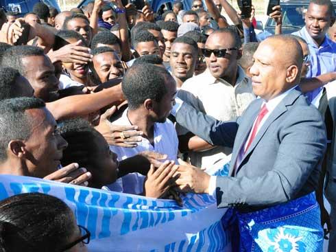 PM Ntsay : Bain de foule à Antsiranana