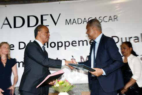 MEEF-ADDEV Madagascar : Une convention pour la mise en place d'un label vert