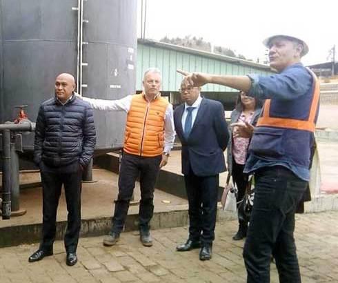 MIDSP : Descente à Ambatomirahavavy du ministre Guy Rivo hier