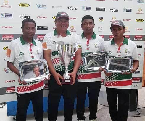 Pétanque : Madagascar remporte le trophée L'Equipe