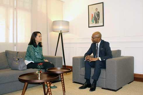 Ramiandrisoa Laura Leong : Consul honoraire de Géorgie à Antananarivo