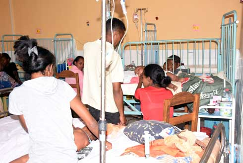 Épidémie de Rougeole : 63 districts concernés dans toute l'île