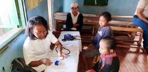 Rotary : Des consultations médicales gratuites pour les classes ASAMA