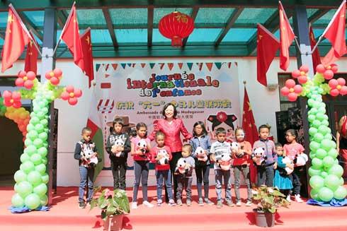 Journée mondiale de l'Enfance : Célébration particulière à l'Ambassade de Chine