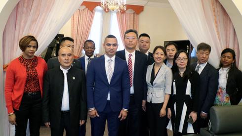COOPERATION : Une délégation chinoise au profit du sport malgache