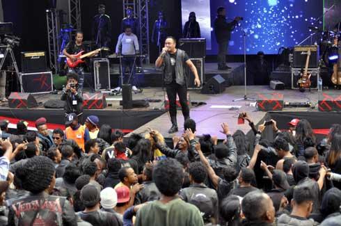 Antsahamanitra : « Rock pentecôte » assure l'essentiel
