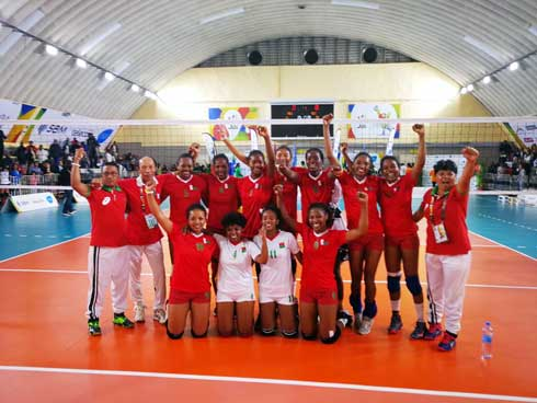 Volley-ball  : Double défaite malgache en finale