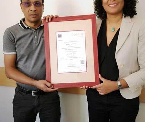 Agence capsule : Le seul cabinet certifié ISO 20 252 à Madagascar