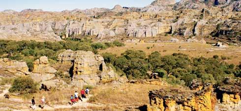 Parc national de l'Isalo  : Deux circuits éco-touristiques pédestres proposés