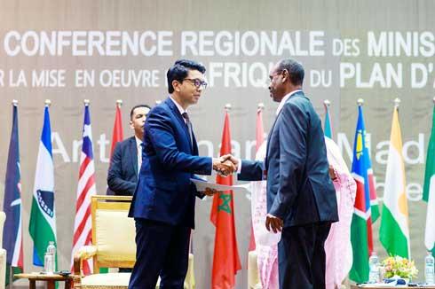 Plan d'action de Kazan : Andry Rajoelina réitère son engagement pour le sport