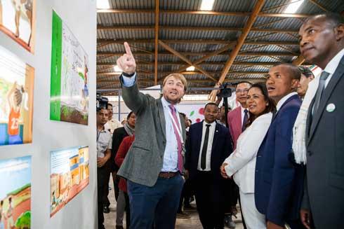 Tozzi  : Green  Promotion d'une agriculture durable et inclusive dans le Sud