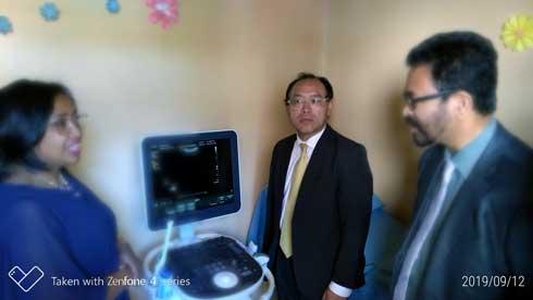 Clinique Ave Maria Antsirabe : Dotée d'équipements médicaux par le Japon
