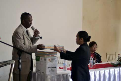 Promotion et création d'emplois à Madagascar : Formation des chefs de service emploi du 17 au 20 septembre