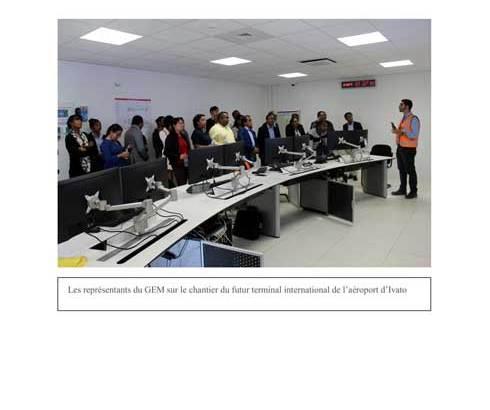 Ravinala Airports : Visite du GEM au nouveau terminal international d'lvato