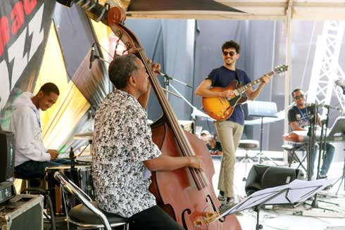 Antsahamanitra : Le premier podium jazz de « Madajazzcar » percutant