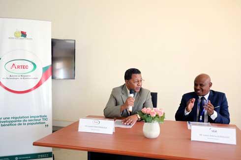 Développement des TIC : Coopération signée entre l'ARTEC et l'INSTAT