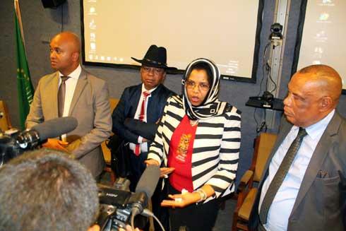 Union africaine : « Proximité des forces de l'ordre dans les quartiers», propose sa représentante