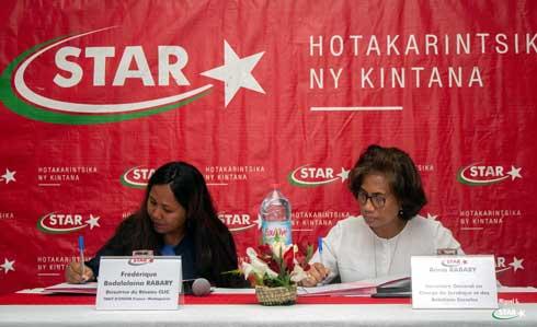 Promotion de la lecture : Renouvellement du partenariat STAR – Association Trait d'Union