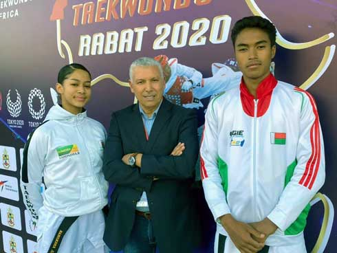 Taekwondo-Qualification JO  Sahontra et Steve éliminés d'entrée !