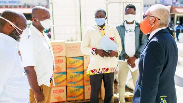 Covid-19: Dons de la Communauté camerounaise à la CUA