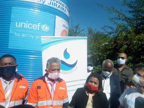 Projet « Water service point » 3 030 points d'eau pour 330 fokontany d'Antananarivo et Toamasina