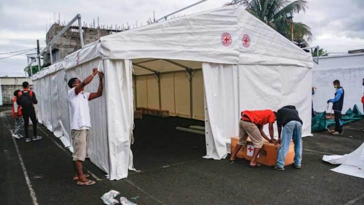 Direction régionale de la santé publique Atsinanana :Un hôpital mobile mise à disposition par la Croix-Rouge Malagasy