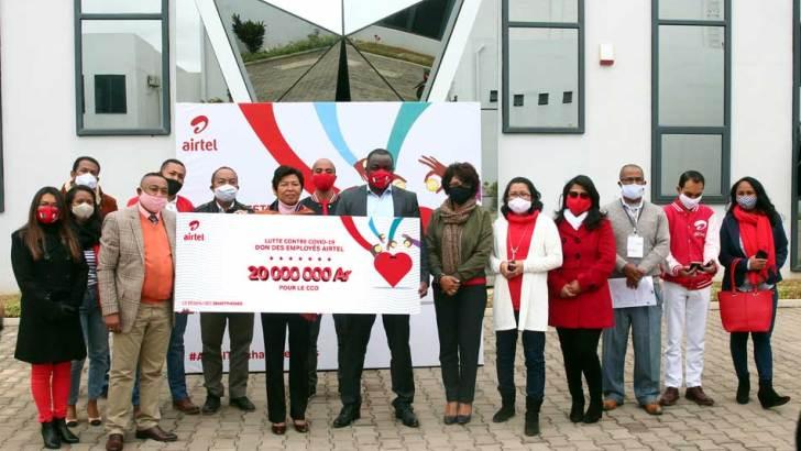 Airtel Madagascar: 20 millions d'ariary pour le CCO