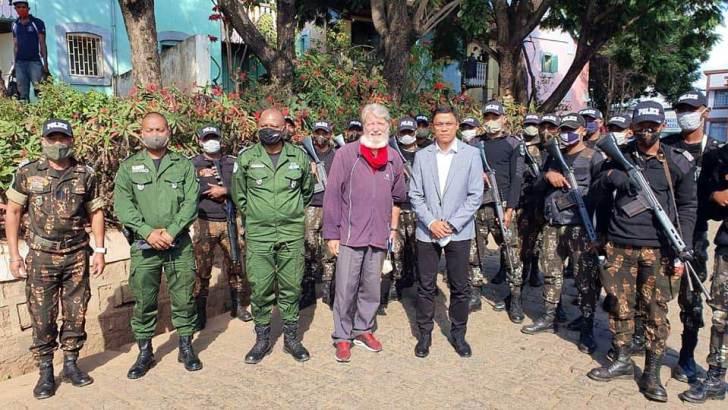 Centre Akamasoa Andralanitra :Un poste de Police pour lutter contre la recrudescence des actes de violence