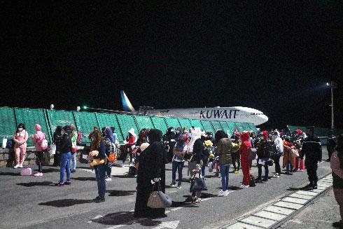 Rapatriement du Koweït : 176 femmes et 1 bébé ont débarqué hier à Ivato