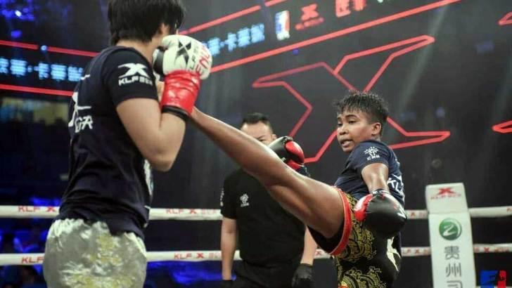 Kick-boxing :Miora Tina Andriamiarisoa, un nom à retenir !