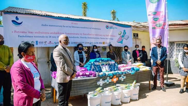 MEAH :Des infrastructures sanitaires pour le CEG Antehiroka