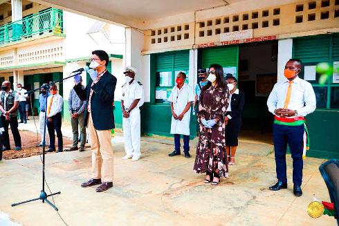 Diana : Prise de fonction du gouverneur Daood Arona Marisiky, hier
