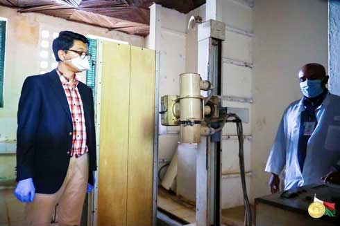 Andry Rajoelina : Primes et indemnités au personnel de la santé
