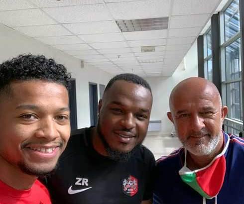 Football : Dupuis à la rencontre des trois Barea du FC Fleury 91