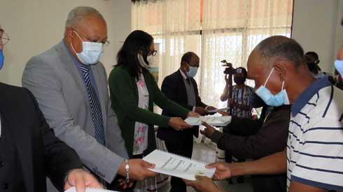 Région Analamanga : Remise de Schémas d'Aménagement Communal pour 20 Communes