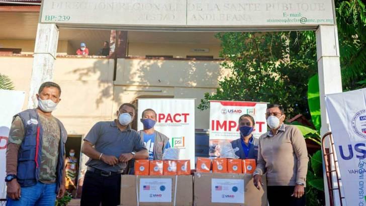 Etats-Unis :4 000 masques pour le personnel de la santé de Toliara et Moramanga