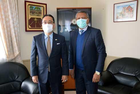 Lutte contre la corruption : Bianco doté en matériels par le Japon
