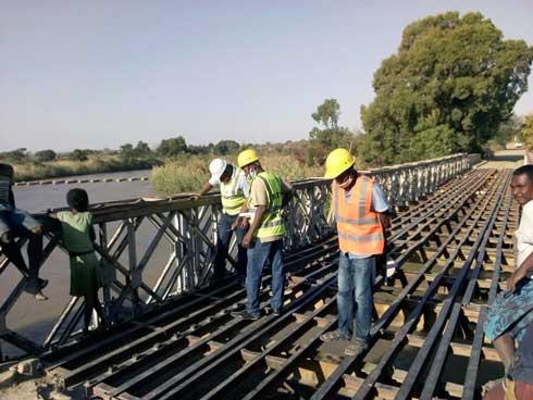 Infrastructures routières : Réhabilitation du pont d'Antaralava sur la RNT15