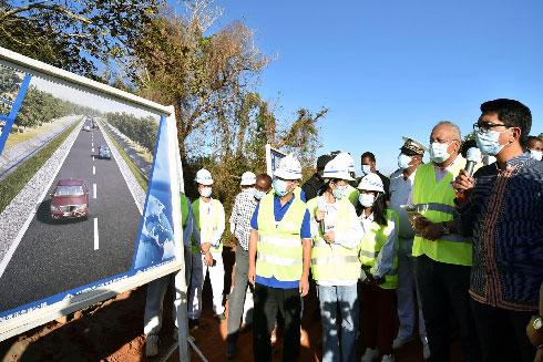 Route Ambilobe – Vohémar : Rajoelina demande que les travaux soient terminés avant le 26 juin 2021