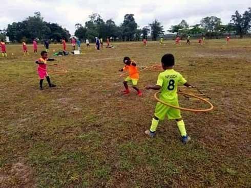 Ecole de foot : Les jeunes pousses retrouvent leur pelouse
