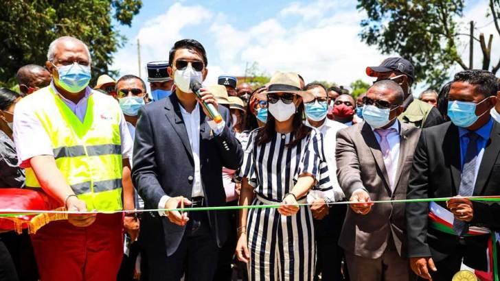 Andry Rajoelina à Toamasina :Début de la réalisation du projet MIAMI