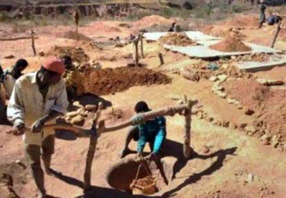 Permis miniers :2 000 en exercice sur 5 000 existants