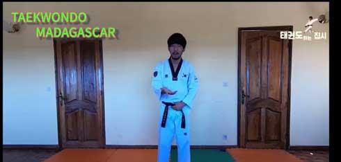 Taekwondo : Des cours en ligne avec Maître Jung