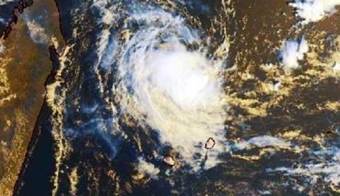 Cyclone : Chalane touchera terre à Fenoarivo Atsinanana