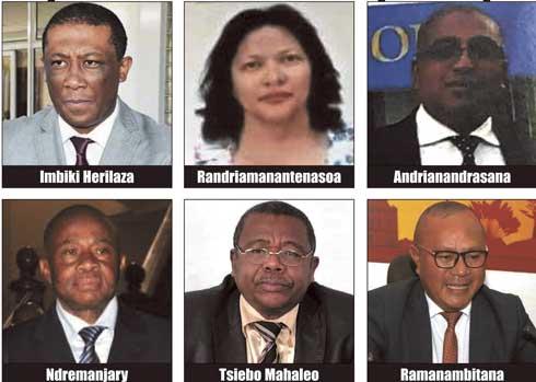 Palais d'Anosikely : Les 6 sénateurs nommés par le Président de la République
