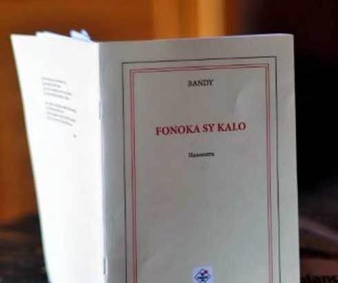 Littérature : « Fonoka sy Kalo », le premier recueil de poèmes de Randy